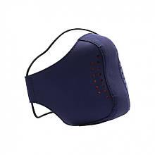 Защитная маска многоразовая Valenta Синяя (ВХ746t)