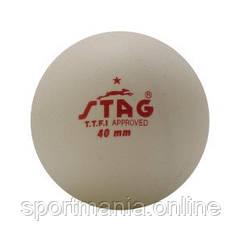 Шарики для наст. тенниса Stag One Star White Ball 6 шт