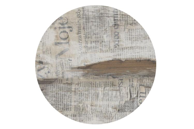 Cтільниця  d80см Newspaper0151 Topalit