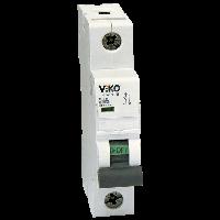 Автоматический выкл. VIKO 1P, 16A, 4,5kA (4VTB-1C16)