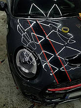 Оклейка кузова на Mini Cooper S 2016 г.в.