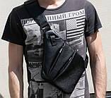 Сумка чоловіча Valenta Cross Body Bag 28х22х2 см Шкіра (ВС1425b), фото 3