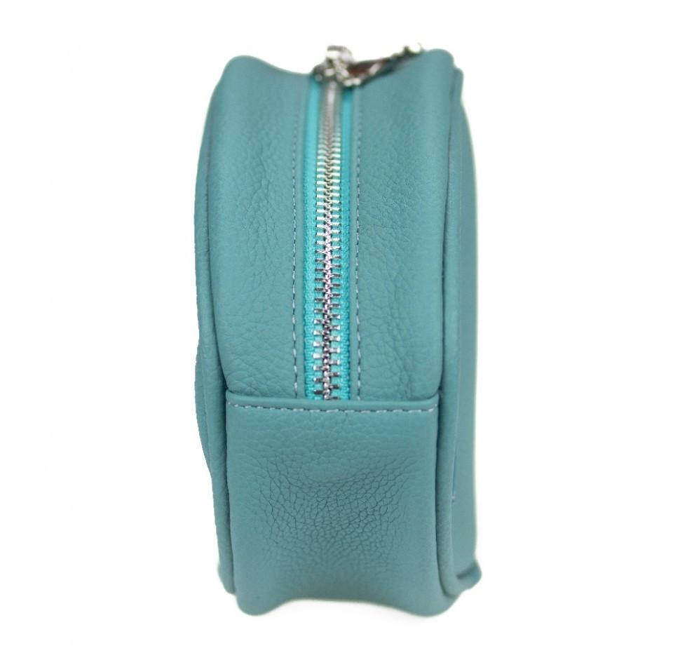 Женская сумка Бананка Valenta Бирюзовый (ВМ6281b)