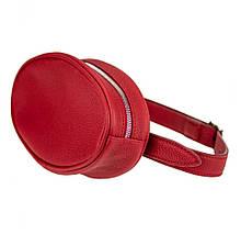 Жіноча сумка Бананка Valenta Червоний (ВМ6281г)