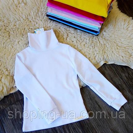 Водолазка - гольф рибана белый Five Stars KD0387-116p, фото 2