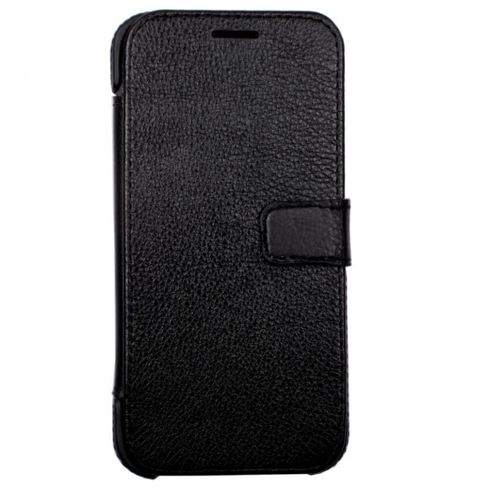 Чохол-книжка Valenta шкіряний для Samsung Galaxy A3 2017 Duos SM-A320 Black (1249361ѕда320)