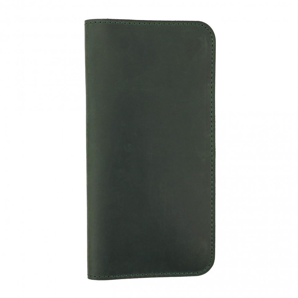 Чохол-гаманець Valenta шкіряний універсальний Green (115369xlt)