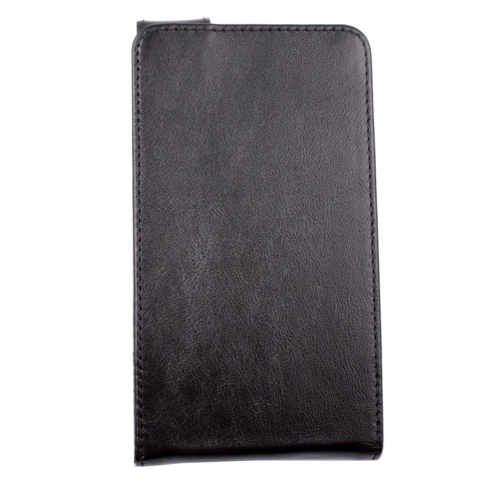 Чехол-флип Valenta для Sony Xperia E4 Black (107311sxe4)