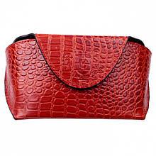 Футляр для очков Valenta кожаный Красный (О133)