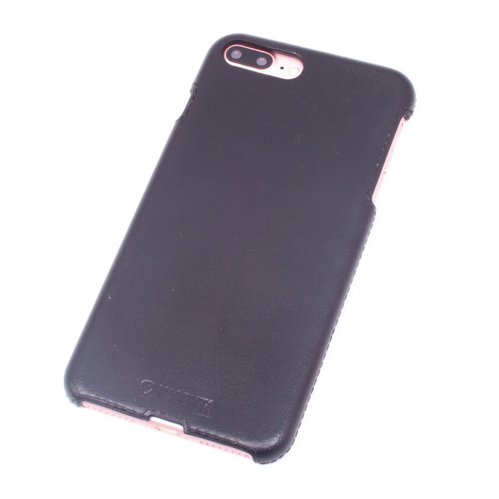 Панель Valenta шкіряна для Apple iPhone 7 Plus/ 7s Plus/ 8 Plus Black (122111i7p)