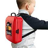 Дитячий ігровий набір інструментів у валізі | Портативний рюкзак Toy Tool Toy | ІГРОВИЙ НАБІР ДЛЯ ХЛОПЧИКІВ, фото 5