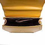 Сумка жіноча Valenta шкіряна Жовта (ВЕ61582419), фото 4