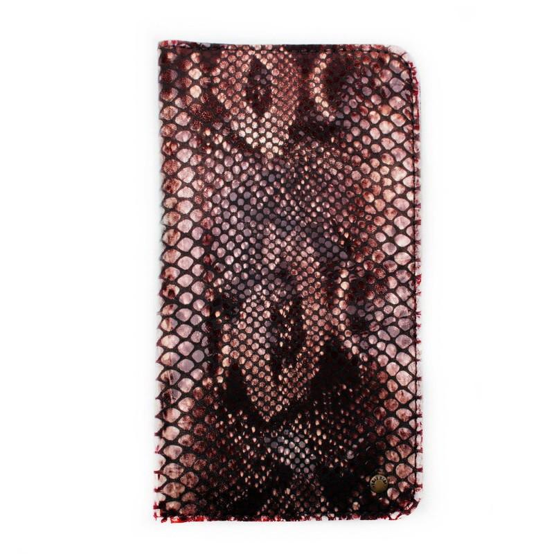 Кошелек c карманом для телефона Valenta кожаный Коричневый (11531610xl)