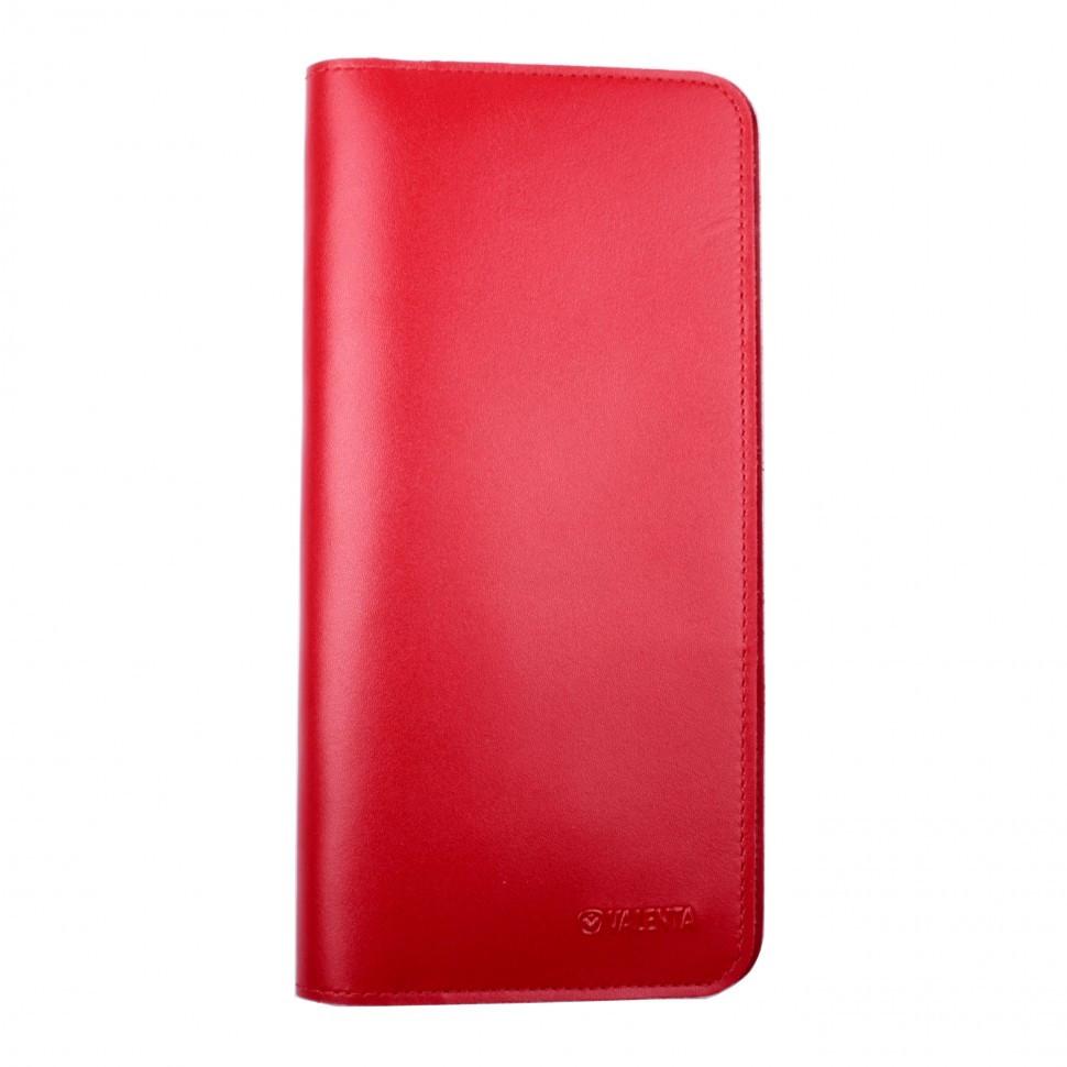 Тревел-кейс Valenta кожаный Красный (ХР59543)