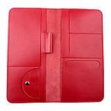 Тревел-кейс Valenta кожаный Красный (ХР59543), фото 4
