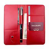 Тревел-кейс Valenta кожаный Красный (ХР59543), фото 5