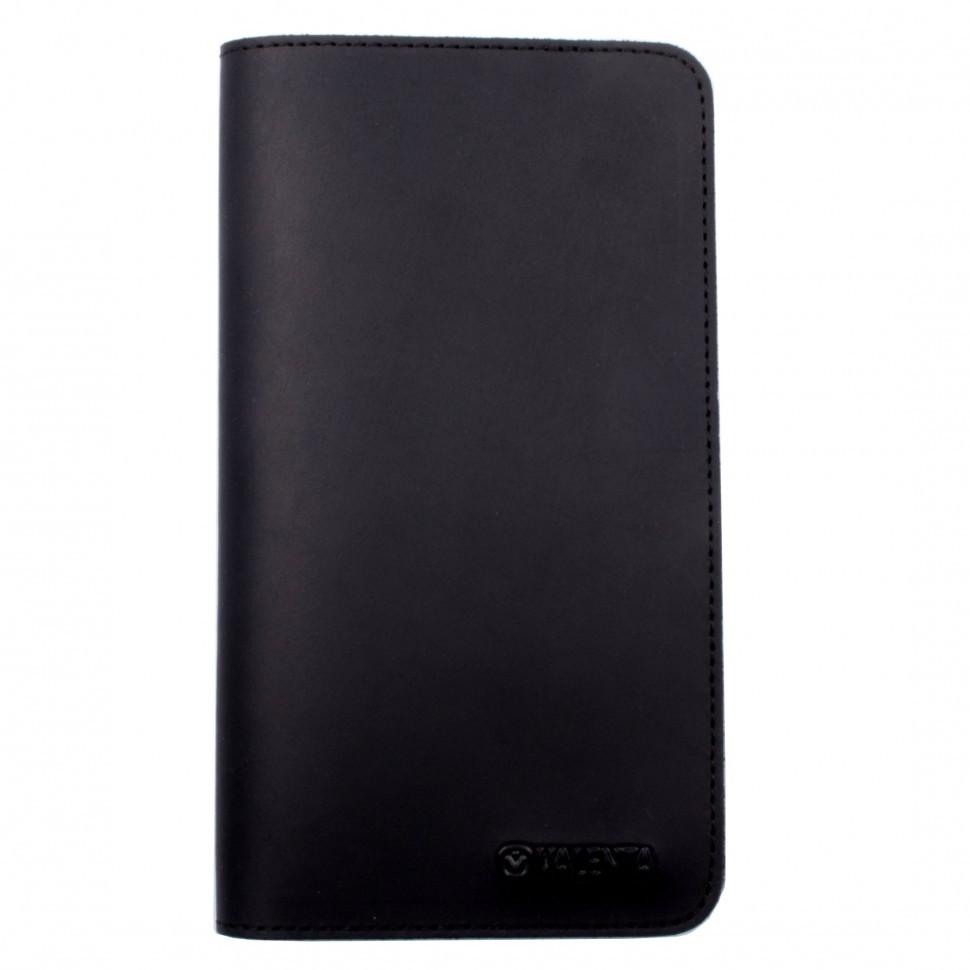 Чохол-гаманець Valenta універсальний Black (115361XL)