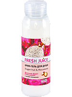 Крем-гель для душа Dragon fruit&Macadamia 300мл Fresh Juice
