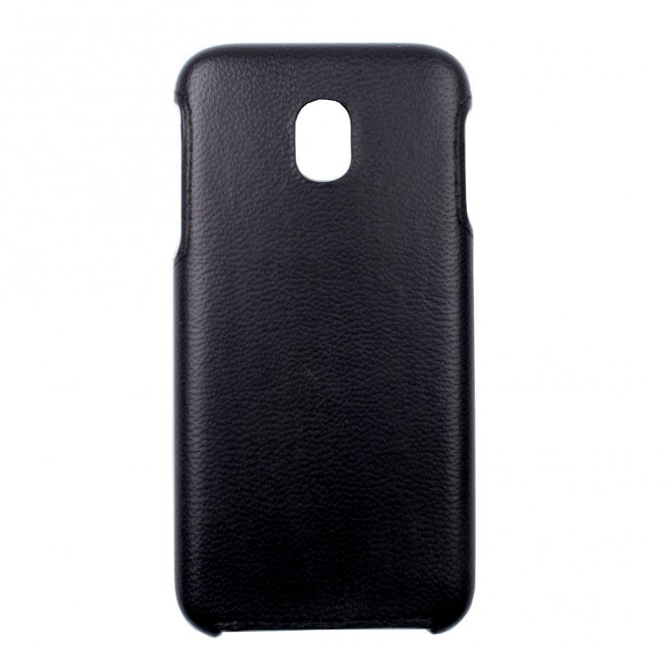 Панель Valenta кожаная для Samsung Galaxy J3 (2017) J330 Black (1221601sg330)