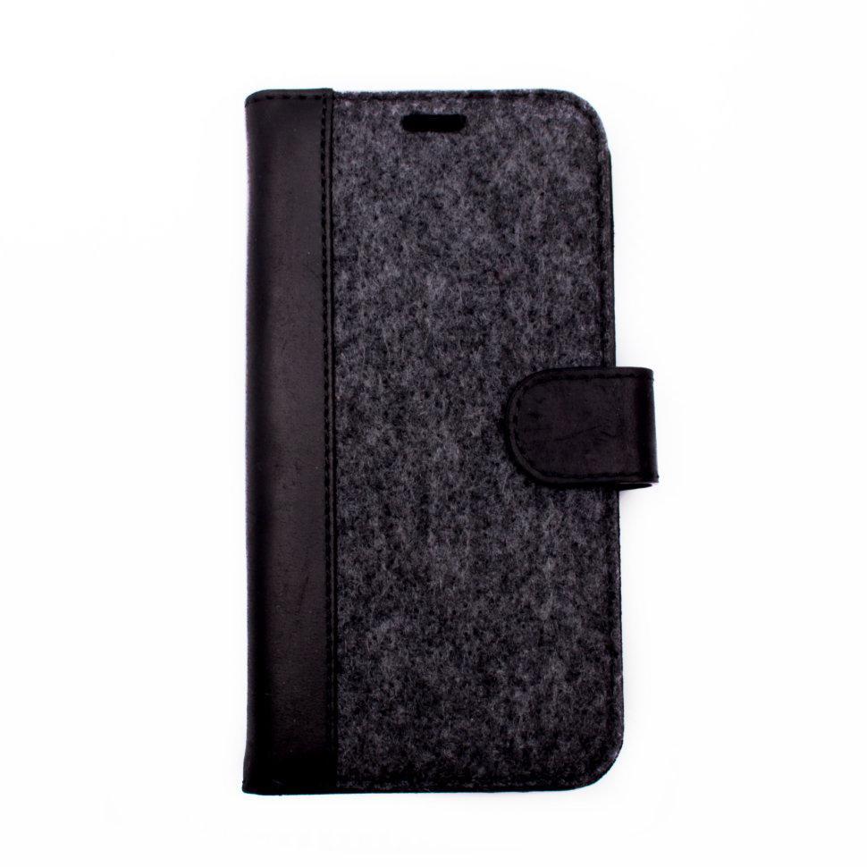 Чехол-книжка Valenta для Apple iPhone X Black (129361ix)