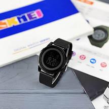 Оригинальные наручные часы Skmei 1502 All Black | Оригинал Скмей, Гарантия 1 год!, фото 3