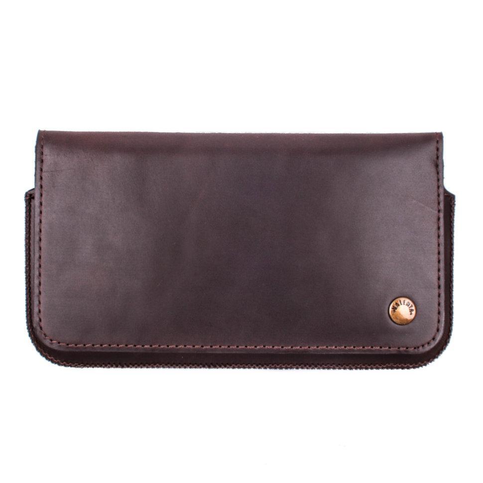 Футляр-кошелек для телефона Valenta универсальный Brown (1129624sg5)