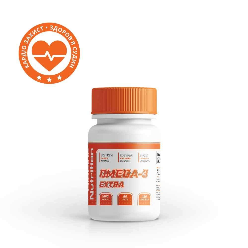 Омега-3 BioLine Nutrition | 120 капсул