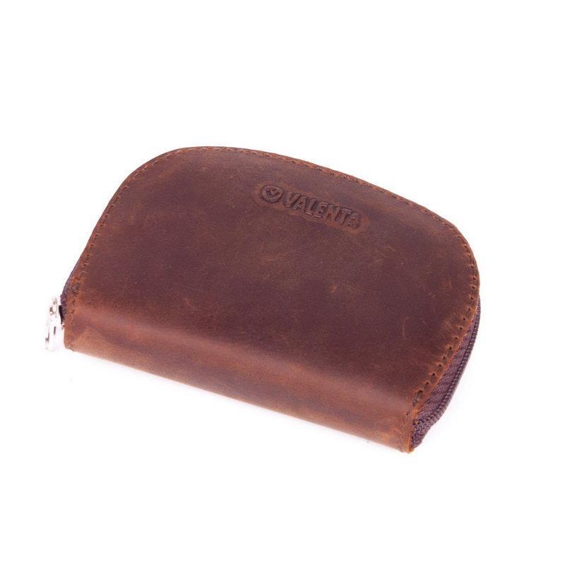 Чехол для наушников Valenta кожаный Коричневый (Н5610)