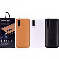 Портативное зарядное устройство 2USB Power Bank 20000 mAh