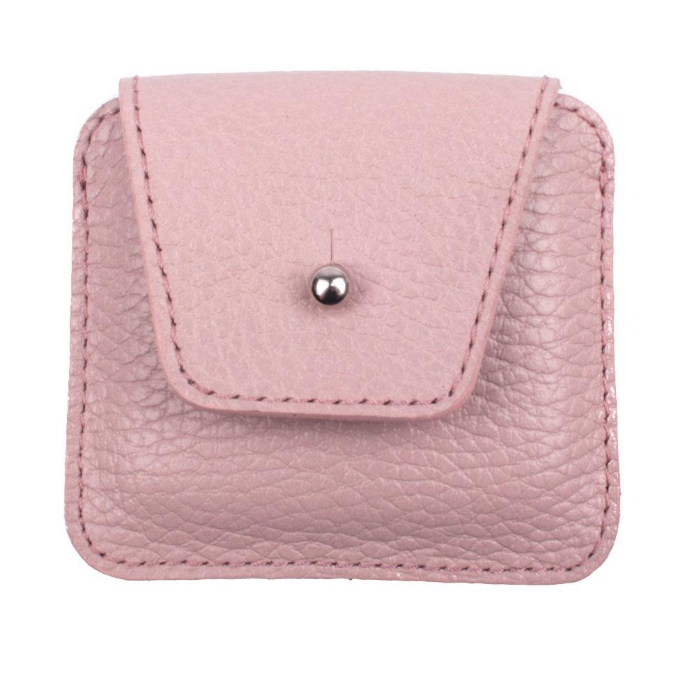 Чехол для наушников Valenta кожаный Розовый (Н285)