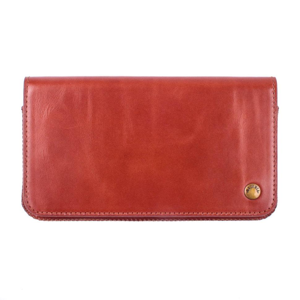 Футляр-кошелек для телефона Valenta универсальный Brown (11291510j7)