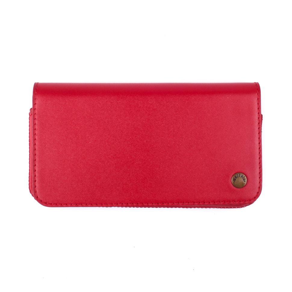 Футляр-кошелек для телефона Valenta универсальный Red (112945322)
