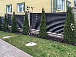 Секції паркану жалюзі, фото 3