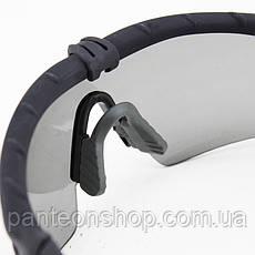 Окуляри захисні V6 grey-limpid [CROSS], фото 3