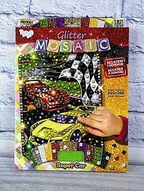 Блискуча мозаїка Glitter Mosaic Авто БМ-03-02 Danko-Toys Україна