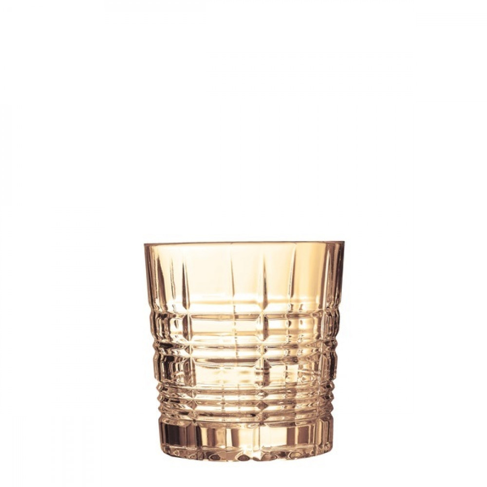 """Набір стаканів скло """"Luminarc. Даллас. Золотий мед"""" (4шт) низьких 300мл P9312/1"""