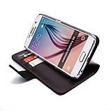 Чохол-книжка Valenta для Samsung Galaxy S6 G920 Brown (1241624sg6), фото 5