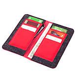 Чохол-гаманець Valenta універсальний Red (1153543XL), фото 4