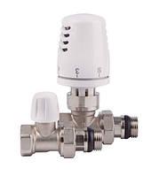 Комплект радиаторных клапанов ICMA термостатический прямой 1/2