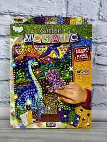 Блискуча мозаїка Glitter Mosaic Діно БМ-03-01 Danko-Toys Україна