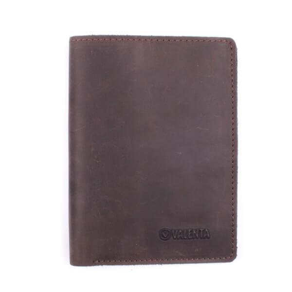 Бумажник мужской Valenta кожаный Коричневый (ХР47610)
