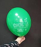 """Латексный шарик принт Among Us ассорти 12 """"30см Belbal ТМ"""" Star """", фото 2"""