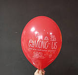 """Латексный шарик принт Among Us ассорти 12 """"30см Belbal ТМ"""" Star """", фото 3"""
