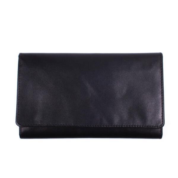 Бумажник мужской Valenta кожаный Черный (ХР139541)