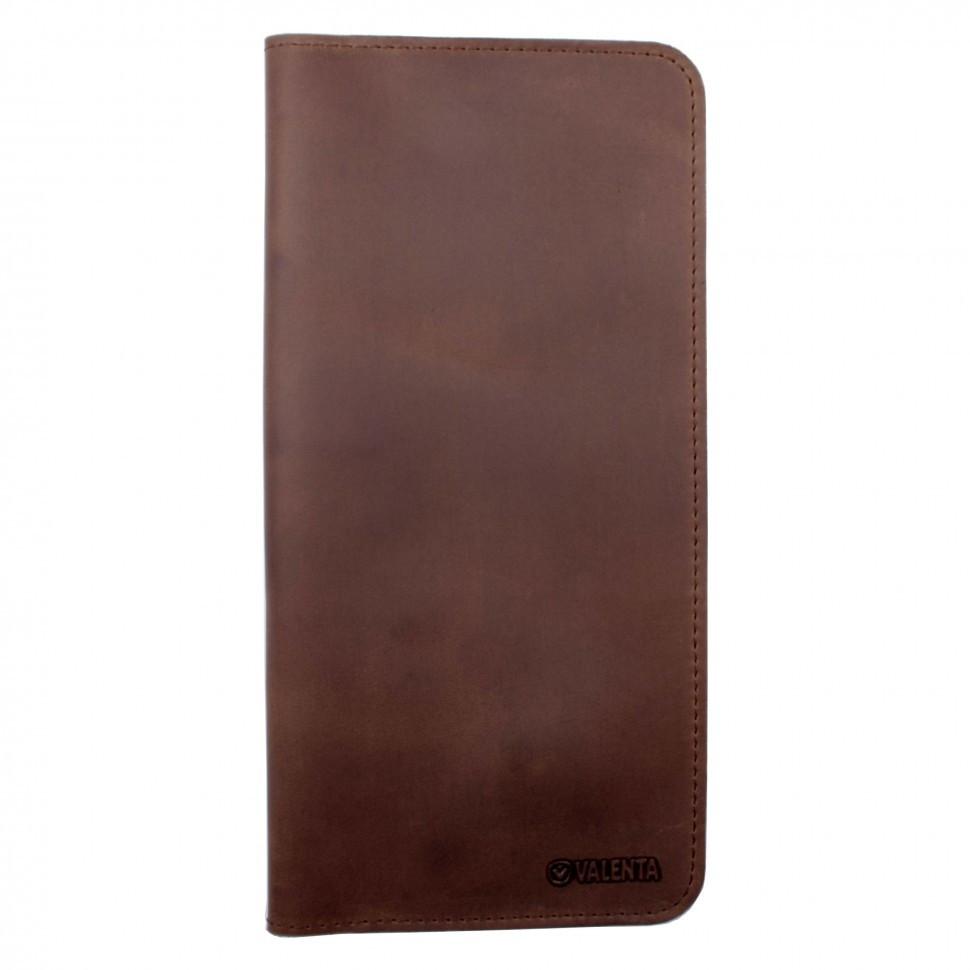 Тревел-кейс Valenta кожаный Коричневый (ХР59610)