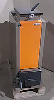 Твердотопливный котел Bizon FS-6 Optima Termo, 6 кВт, длительного горения, шахтного типа (Холмова)