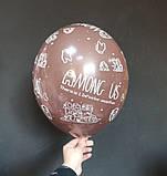 """Латексный шар принт Among Us ассорти 12 """"30см Belbal ТМ"""" Star """", фото 7"""