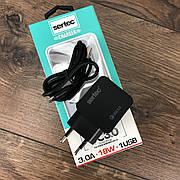 Зарядное устройство Reddax Sertec ST-1050 сетевой адаптер для зарядки телефона 2 3 ампера быстрая зарядка