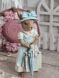 """Статуетка з кераміки """"Кролиця з Провансу"""" h 18,5 см, 270 грн, фото 4"""