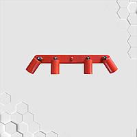 Спот поворотный на 4-лампы SLEEVE-4  E27  красный, фото 1